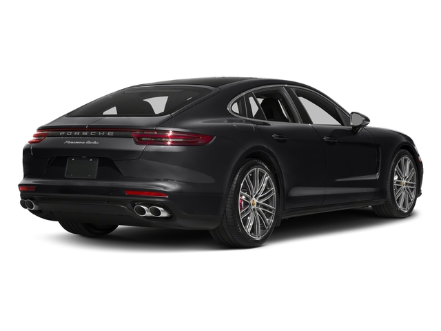 Black 2017 Porsche Panamera Pictures Panamera Turbo Executive AWD photos rear view
