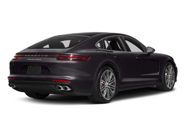 Amethyst Metallic 2017 Porsche Panamera Pictures Panamera Turbo Executive AWD photos rear view