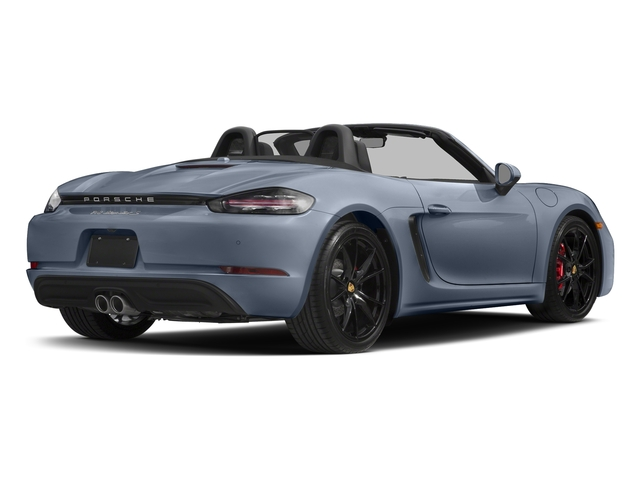 Graphite Blue Metallic 2017 Porsche 718 Boxster Pictures 718 Boxster Roadster 2D S H4 Turbo photos rear view