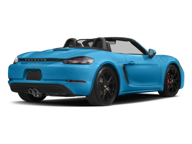 Miami Blue 2017 Porsche 718 Boxster Pictures 718 Boxster Roadster 2D S H4 Turbo photos rear view