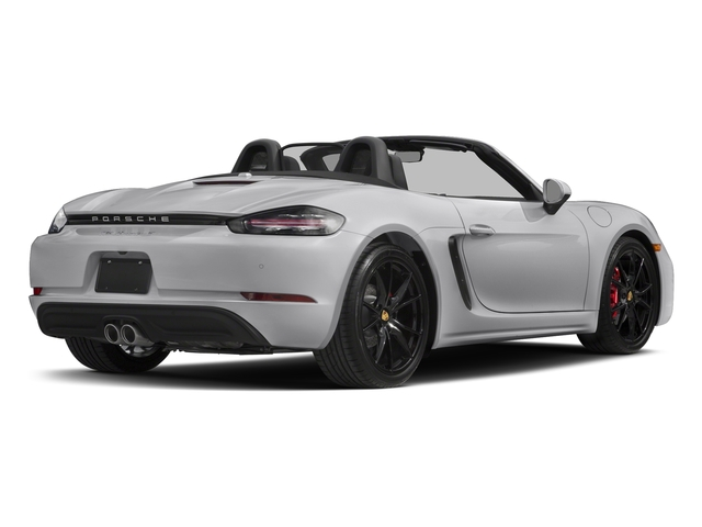 GT Silver Metallic 2017 Porsche 718 Boxster Pictures 718 Boxster Roadster 2D S H4 Turbo photos rear view