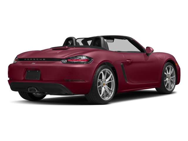 Carmine Red 2017 Porsche 718 Boxster Pictures 718 Boxster Roadster 2D H4 Turbo photos rear view
