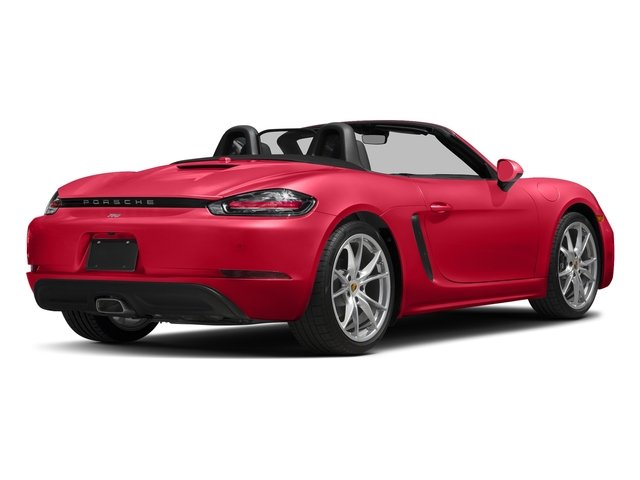 Guards Red 2017 Porsche 718 Boxster Pictures 718 Boxster Roadster photos rear view