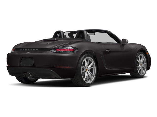 Agate Grey Metallic 2017 Porsche 718 Boxster Pictures 718 Boxster Roadster 2D H4 Turbo photos rear view