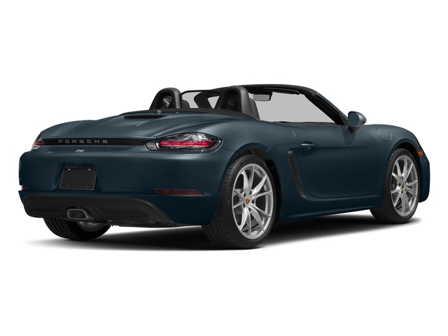 Night Blue Metallic 2017 Porsche 718 Boxster Pictures 718 Boxster Roadster 2D H4 Turbo photos rear view