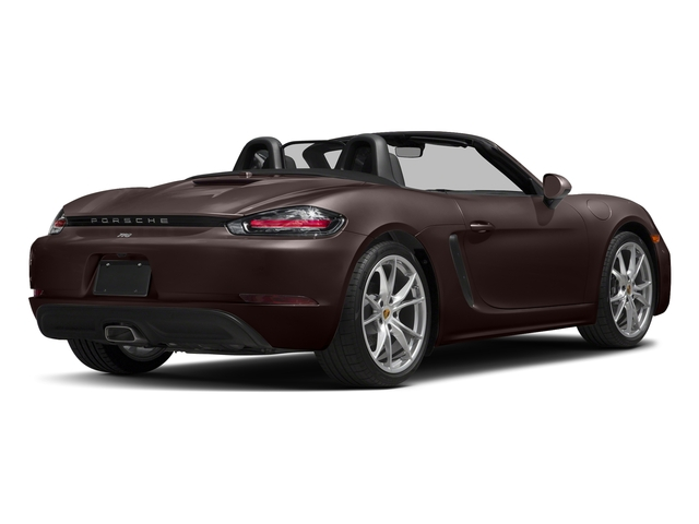 Mahogany Metallic 2017 Porsche 718 Boxster Pictures 718 Boxster Roadster 2D H4 Turbo photos rear view