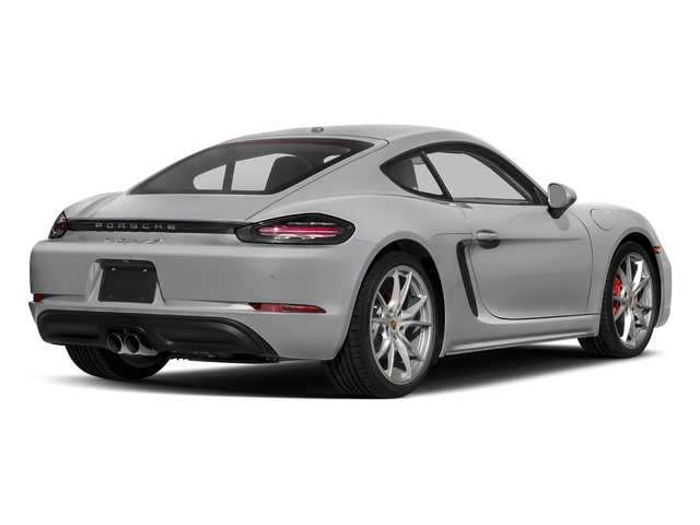 GT Silver Metallic 2017 Porsche 718 Cayman Pictures 718 Cayman S Coupe photos rear view
