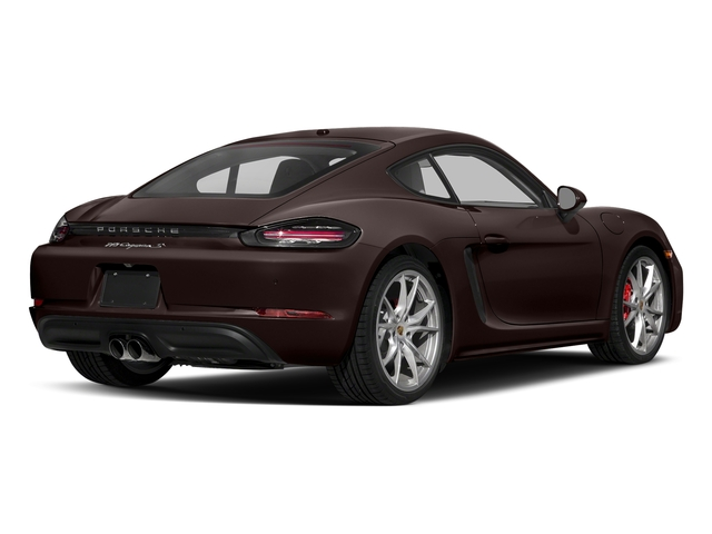 Mahogany Metallic 2017 Porsche 718 Cayman Pictures 718 Cayman Coupe 2D S H4 Turbo photos rear view