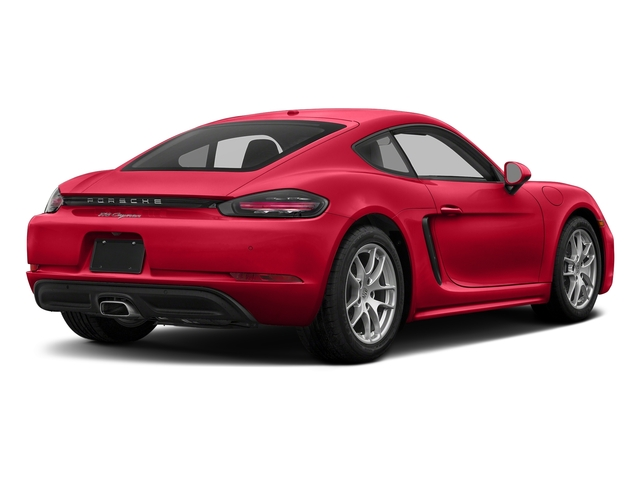 Guards Red 2017 Porsche 718 Cayman Pictures 718 Cayman Coupe photos rear view