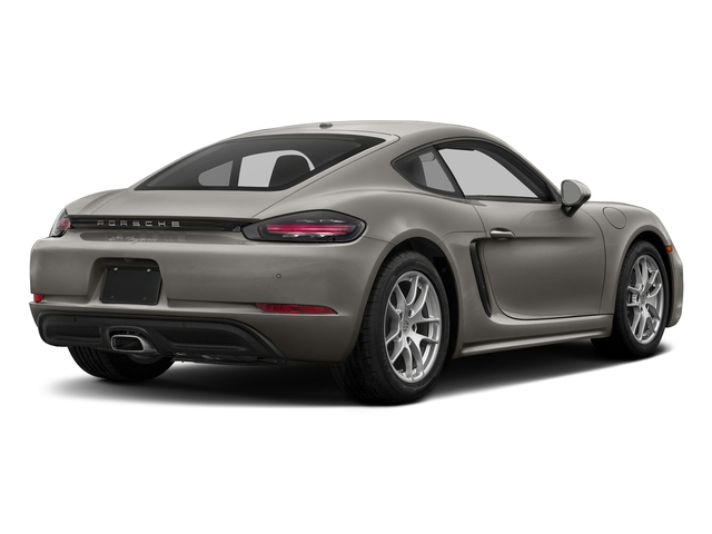 Agate Grey Metallic 2017 Porsche 718 Cayman Pictures 718 Cayman Coupe photos rear view