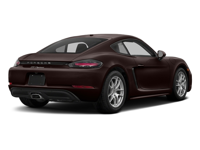 Mahogany Metallic 2017 Porsche 718 Cayman Pictures 718 Cayman Coupe photos rear view