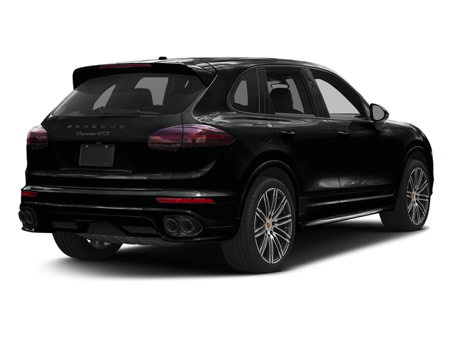 Jet Black Metallic 2017 Porsche Cayenne Pictures Cayenne Utility 4D GTS AWD V6 Turbo photos rear view