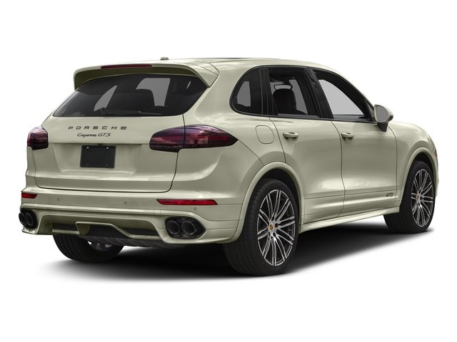 Carrara White Metallic 2017 Porsche Cayenne Pictures Cayenne Utility 4D GTS AWD V6 Turbo photos rear view