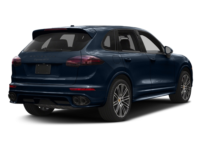 Moonlight Blue Metallic 2017 Porsche Cayenne Pictures Cayenne Utility 4D GTS AWD V6 Turbo photos rear view