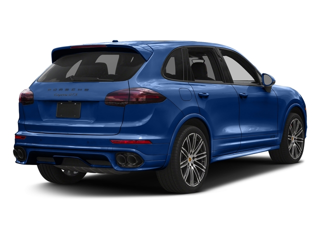 Sapphire Blue Metallic 2017 Porsche Cayenne Pictures Cayenne Utility 4D GTS AWD V6 Turbo photos rear view
