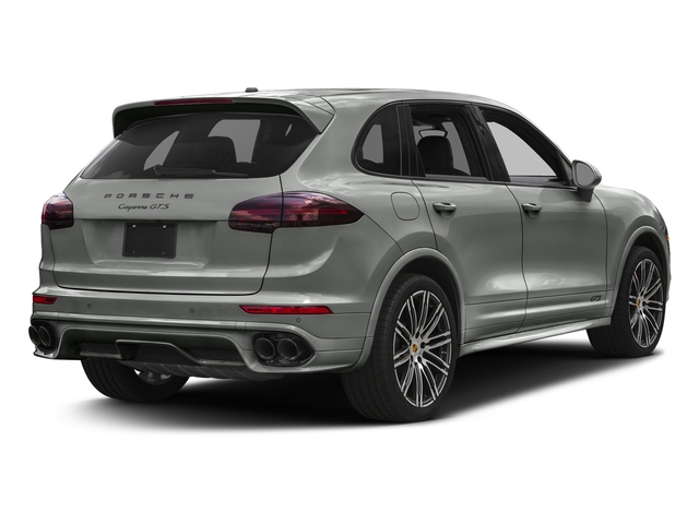 Rhodium Silver Metallic 2017 Porsche Cayenne Pictures Cayenne Utility 4D GTS AWD V6 Turbo photos rear view