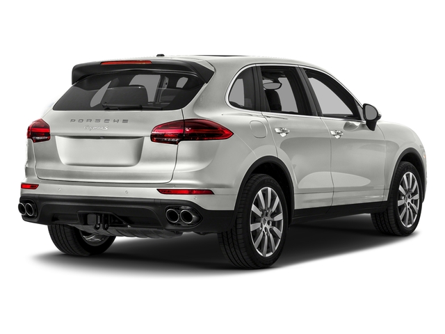 White 2017 Porsche Cayenne Pictures Cayenne S AWD photos rear view