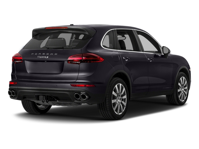 Purpurite Metallic 2017 Porsche Cayenne Pictures Cayenne S AWD photos rear view