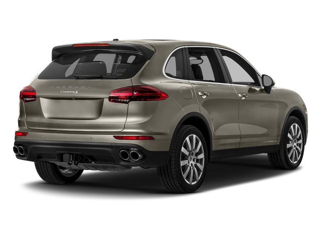 Palladium Metallic 2017 Porsche Cayenne Pictures Cayenne S AWD photos rear view