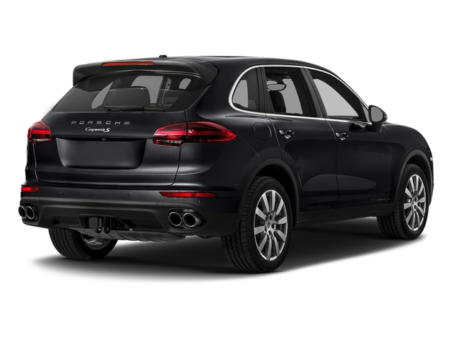 Black 2017 Porsche Cayenne Pictures Cayenne S AWD photos rear view