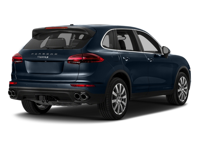 Moonlight Blue Metallic 2017 Porsche Cayenne Pictures Cayenne S AWD photos rear view