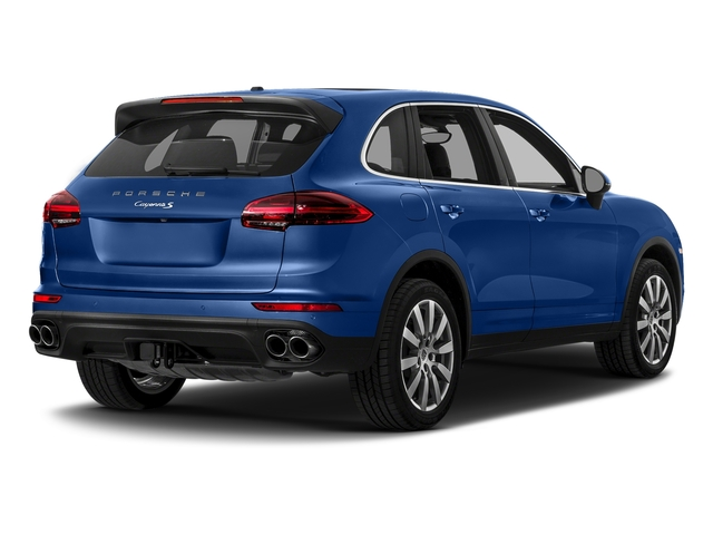 Sapphire Blue Metallic 2017 Porsche Cayenne Pictures Cayenne S AWD photos rear view