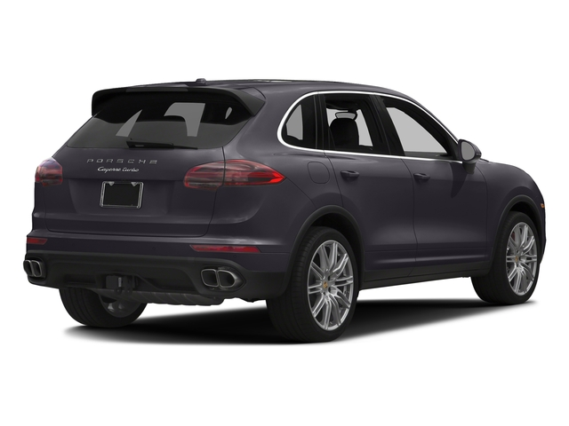 Purpurite Metallic 2017 Porsche Cayenne Pictures Cayenne Utility 4D AWD V8 Turbo photos rear view