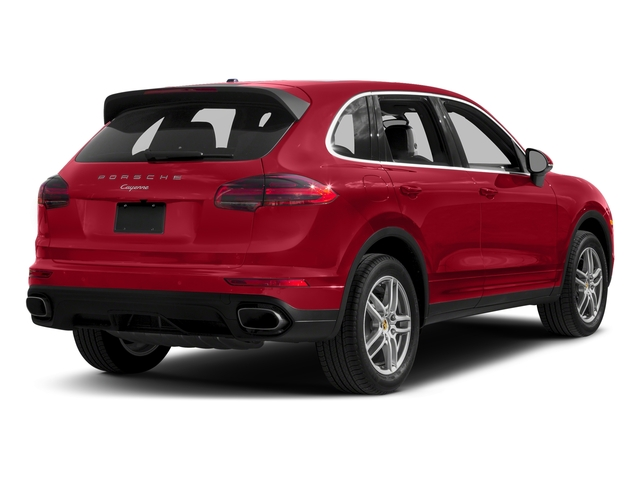 Carmine Red 2017 Porsche Cayenne Pictures Cayenne AWD photos rear view