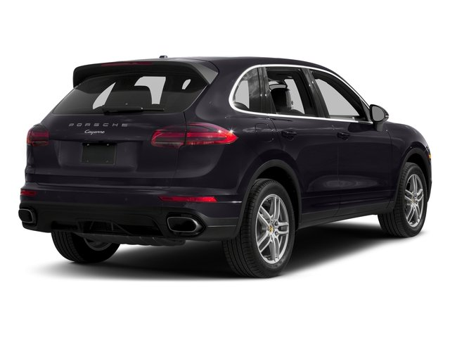 Purpurite Metallic 2017 Porsche Cayenne Pictures Cayenne Utility 4D AWD V6 photos rear view
