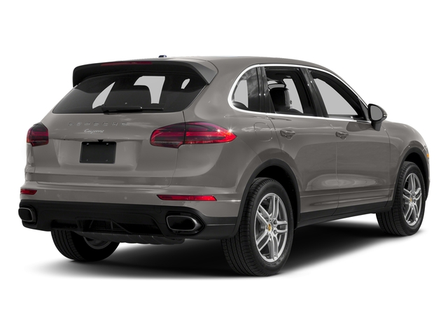 Meteor Grey Metallic 2017 Porsche Cayenne Pictures Cayenne Utility 4D AWD V6 photos rear view