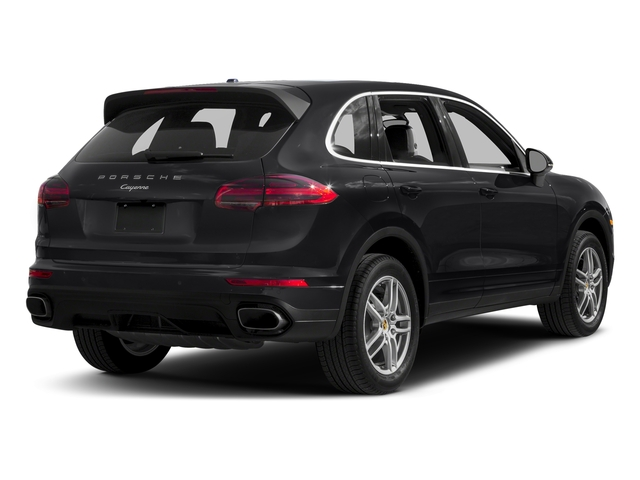 Black 2017 Porsche Cayenne Pictures Cayenne AWD photos rear view