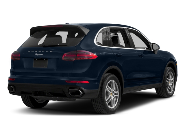 Moonlight Blue Metallic 2017 Porsche Cayenne Pictures Cayenne Utility 4D AWD V6 photos rear view