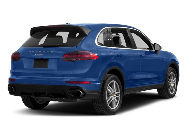 Sapphire Blue Metallic 2017 Porsche Cayenne Pictures Cayenne AWD photos rear view