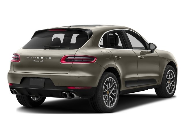 Palladium Metallic 2017 Porsche Macan Pictures Macan Utility 4D Performance AWD V6 Turbo photos rear view