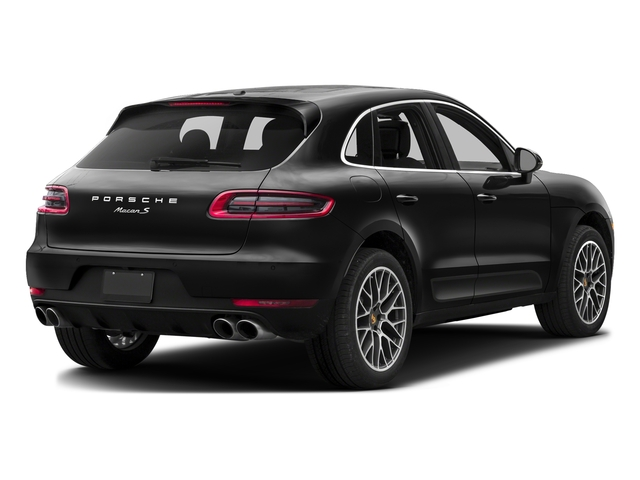 Custom Color Non-Metallic 2017 Porsche Macan Pictures Macan Utility 4D S AWD V6 Turbo photos rear view