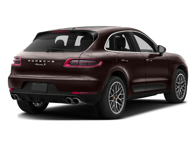 Mahogany Metallic 2017 Porsche Macan Pictures Macan Utility 4D Performance AWD V6 Turbo photos rear view