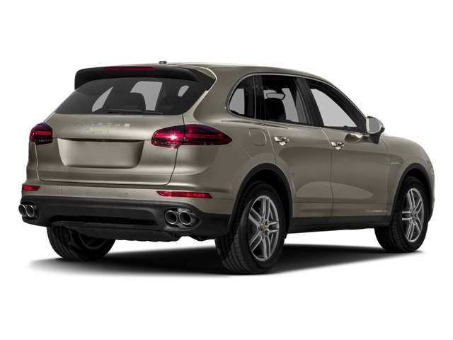 Palladium Metallic 2017 Porsche Cayenne Pictures Cayenne S E-Hybrid AWD photos rear view