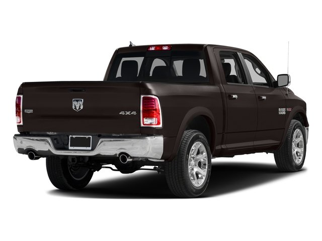 Luxury Brown Pearlcoat 2017 Ram Truck 1500 Pictures 1500 Laramie 4x4 Crew Cab 6'4 Box photos rear view