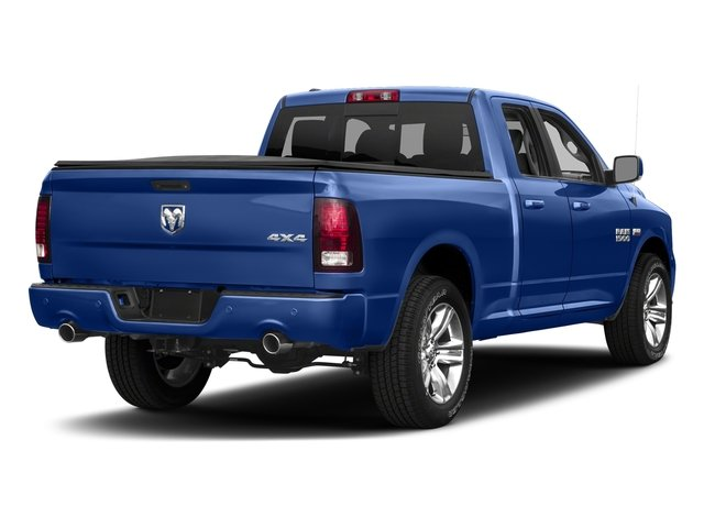 Blue Streak Pearlcoat 2017 Ram Truck 1500 Pictures 1500 Quad Cab Sport 2WD photos rear view