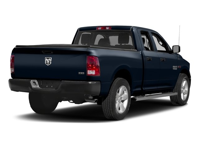 True Blue Pearlcoat 2017 Ram Truck 1500 Pictures 1500 Quad Cab HFE 2WD V6 T-Diesel photos rear view