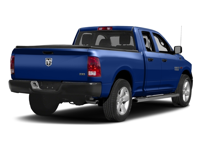 Blue Streak Pearlcoat 2017 Ram Truck 1500 Pictures 1500 HFE 4x2 Quad Cab 6'4 Box photos rear view