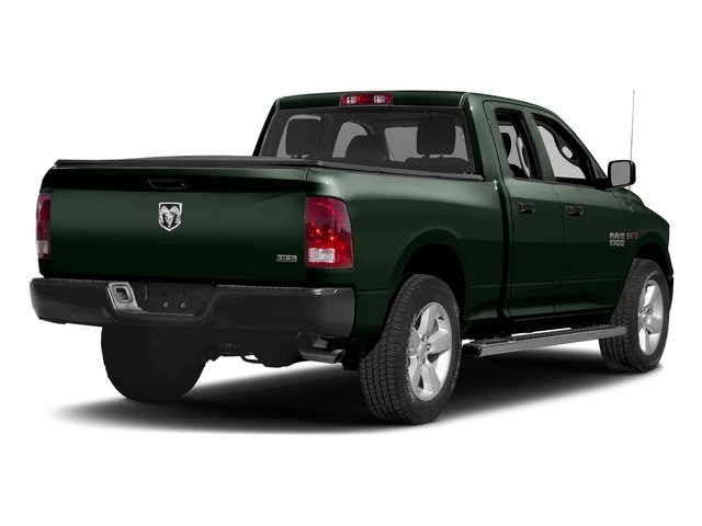 Black Forest Green Pearlcoat 2017 Ram Truck 1500 Pictures 1500 Quad Cab HFE 2WD V6 T-Diesel photos rear view