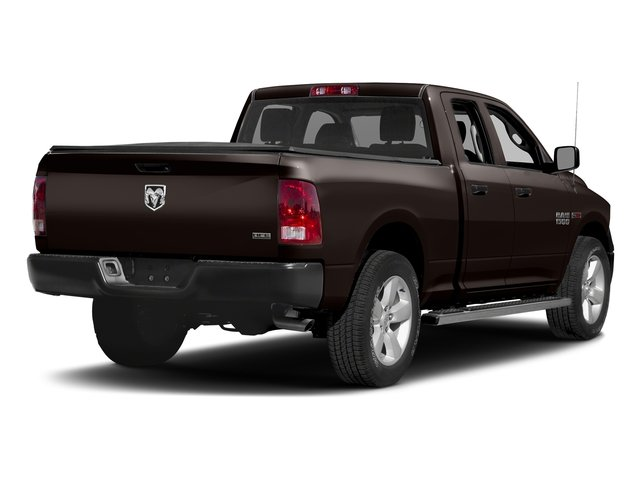 Luxury Brown Pearlcoat 2017 Ram Truck 1500 Pictures 1500 Quad Cab HFE 2WD V6 T-Diesel photos rear view