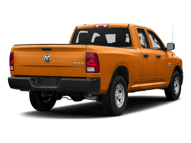 Omaha Orange 2017 Ram Truck 1500 Pictures 1500 Express 4x2 Quad Cab 6'4 Box photos rear view