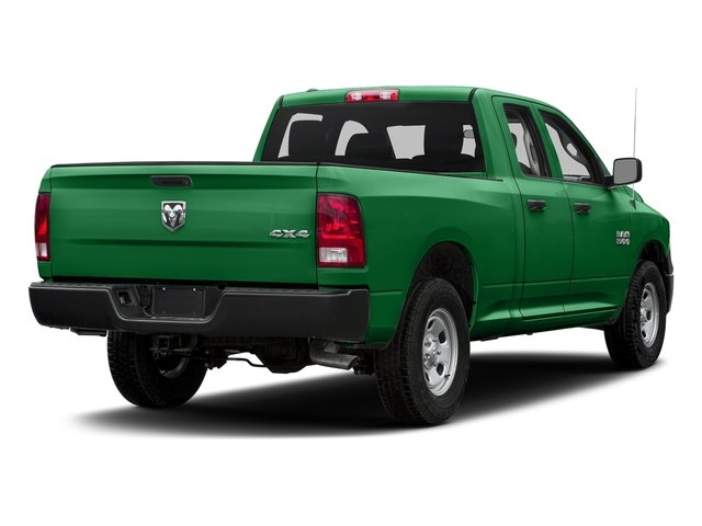 Bright Green 2017 Ram Truck 1500 Pictures 1500 Quad Cab Express 2WD photos rear view