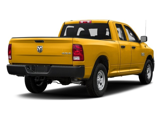 Construction Yellow 2017 Ram Truck 1500 Pictures 1500 Express 4x2 Quad Cab 6'4 Box photos rear view