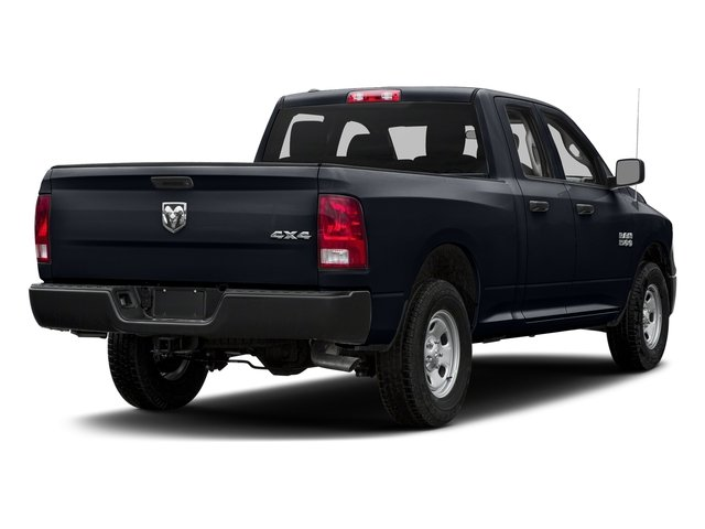 Midnight Blue Pearlcoat 2017 Ram Truck 1500 Pictures 1500 Quad Cab Express 4WD photos rear view