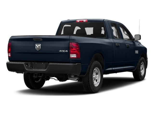 True Blue Pearlcoat 2017 Ram Truck 1500 Pictures 1500 Quad Cab Tradesman 2WD photos rear view