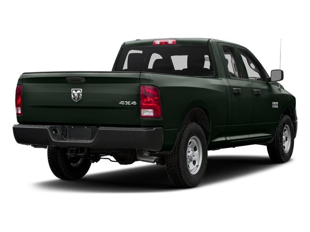 Black Forest Green Pearlcoat 2017 Ram Truck 1500 Pictures 1500 Quad Cab Express 2WD photos rear view