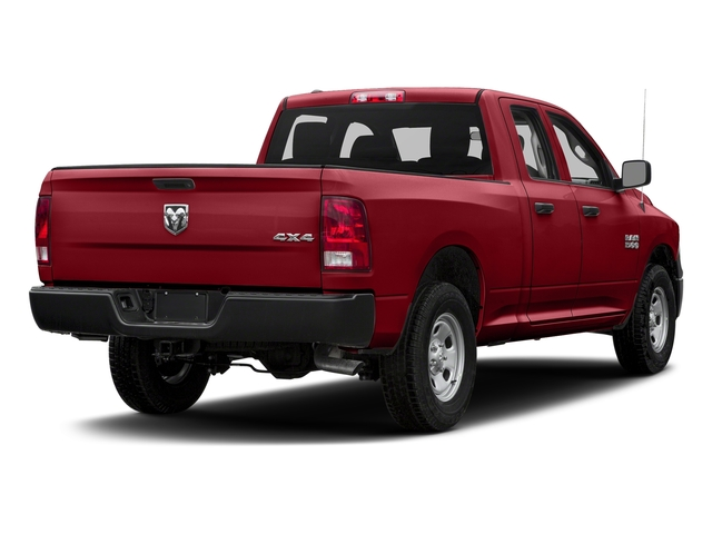 Flame Red Clearcoat 2017 Ram Truck 1500 Pictures 1500 Quad Cab Express 2WD photos rear view